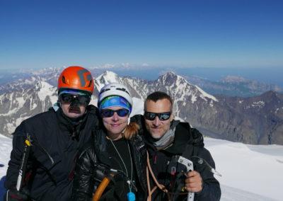 Trzy Szczyty Wielkiego Kaukazu - Kazbek (5047 m)