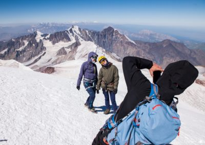 Kolejna fotka ze szczytu Kazbeku