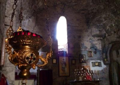 Wnętrze cerkwi Lomisi