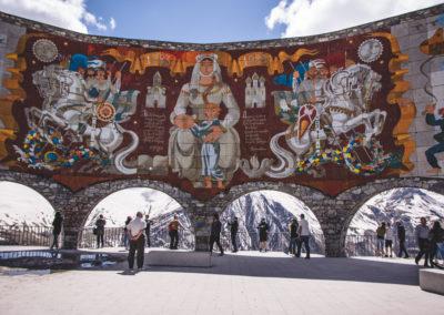 """Pomnik """"arka"""" przyjaźni rosyjsko-gruzińskiej"""