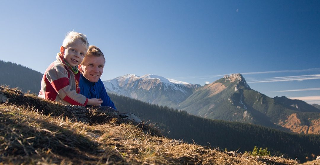 Trekking z dziećmi