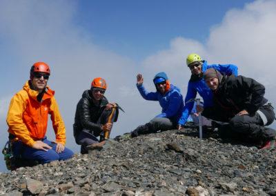 Laila - wierzchołek południowy (3998 m)