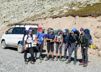 Mocna ekipa w drodze na Tetnuldi!