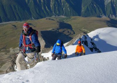 Na grani Tetnuldi (4858 m)