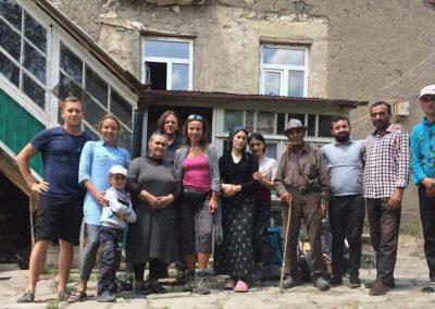 Nasza rodzina w wiosce Khinalug - Azerbejdzan