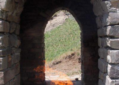 Swiatynia ognia na azerskim Kaukazie