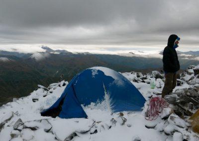 W obozie