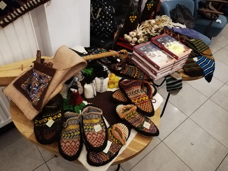 Rękodzieło z regionów Chewi, Pszawi i Tuszetii
