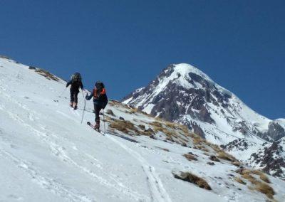 Skiturowe wejscie na Kazbek (5054 m)