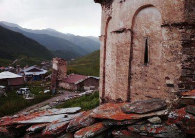 Średniowieczne wieże Swanetii - Uszguli