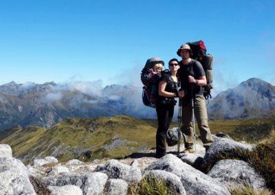 Rodzinne trekkingi na Kaukazie
