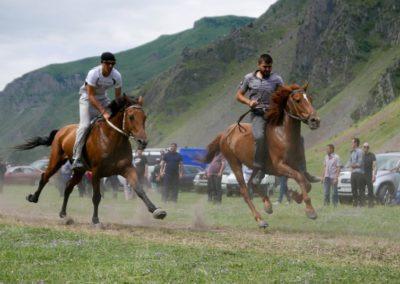 Wyścigi konne w Kazbegi