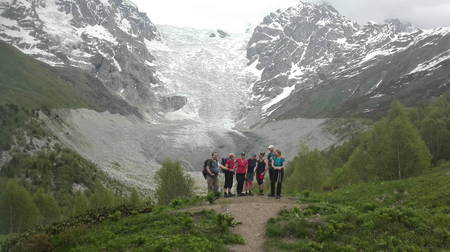 trekking w swanetii