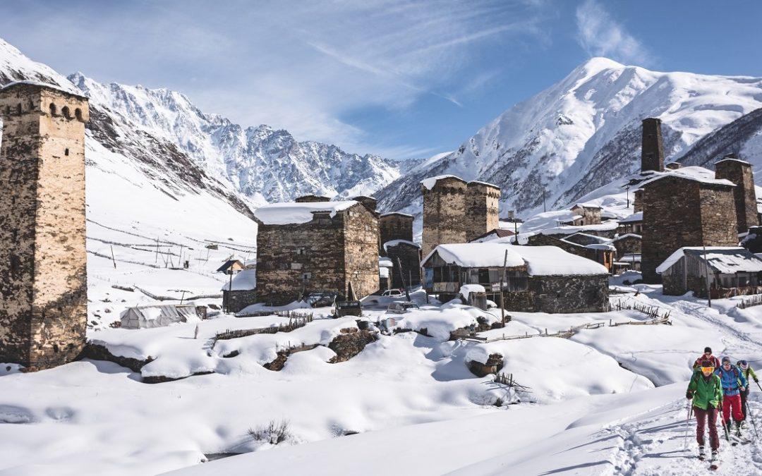 Zima w Gruzji